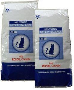 2x12kg Royal Canin Balance Neutered Satiety Balance Veterinary Care Nutrition Katze