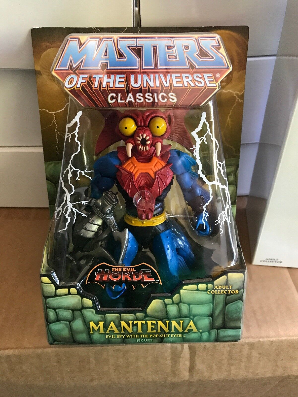 MOTUC, Mantenna, Masters of the Universe Classics, MOC, figure, sealed, MISB