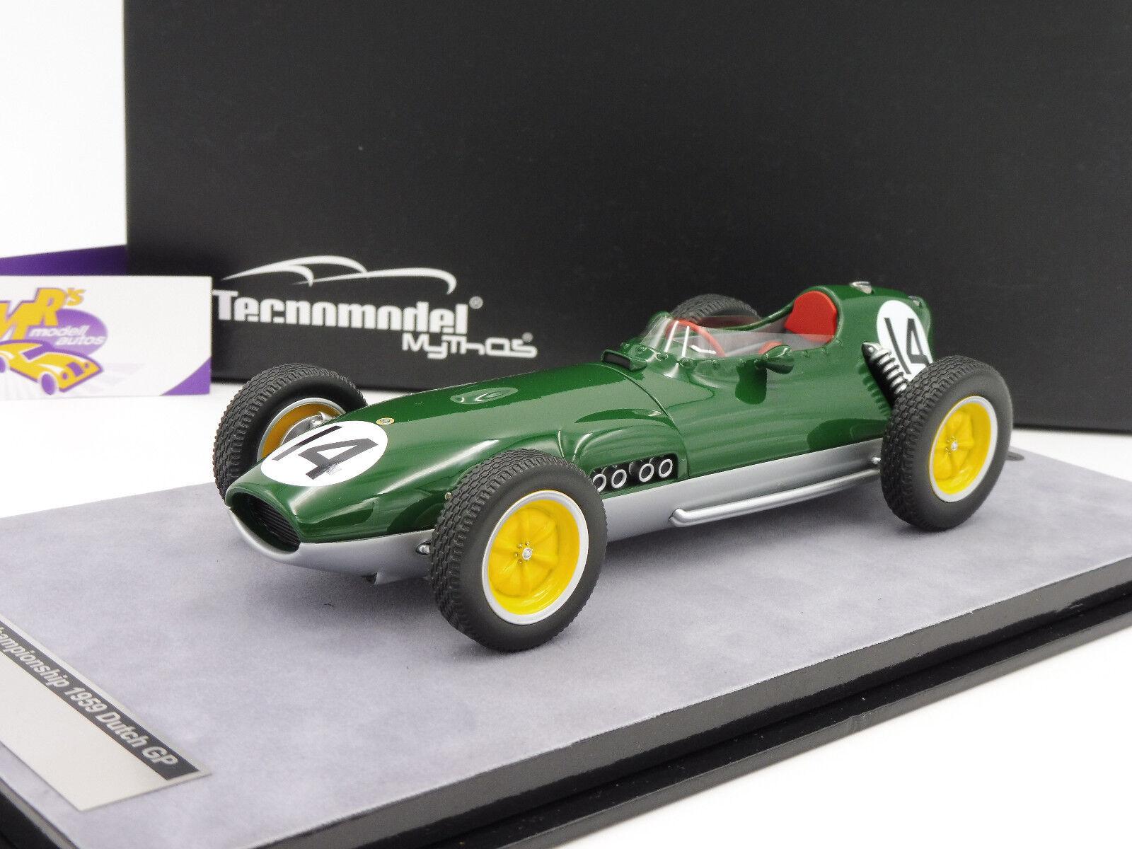 Tecnomodel tm18 -123 C  lotus 16 f1 Championship Dutch Dutch Dutch gp 1959