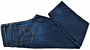 Jaens-Uomo-Jaggy-Newman-Regular-Zip-Blu-Denim-Jeans-Men-Denim-Blue