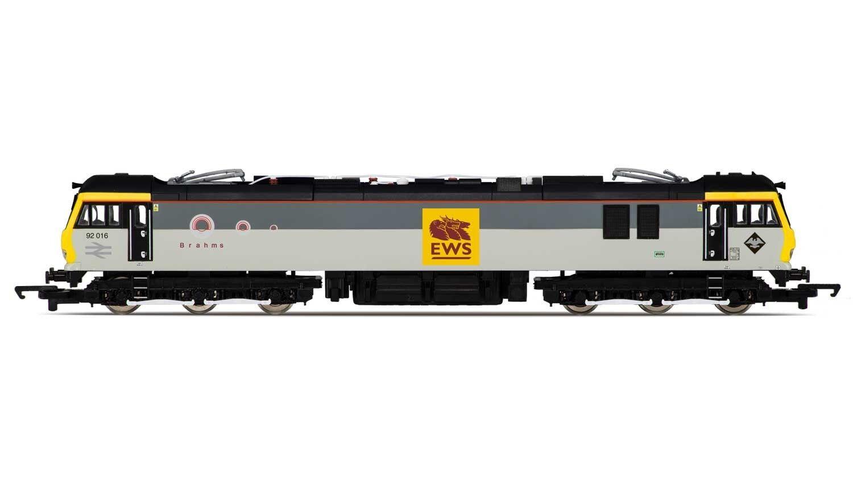 Hornby R3480 classe 92 92 92 Electric Locomotive EWS 92016 'Brahms' BRe nuovo 303ede