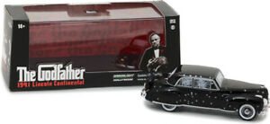 GREENLIGHT-86511-LINCOLN-CONTINENTAL-from-The-Godfather-with-bullet-holes-1-43