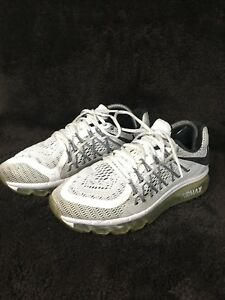 e7275af4ef4 2015 Nike Air Max Running Shoes White Black Size 7 (698902-101) 162 ...