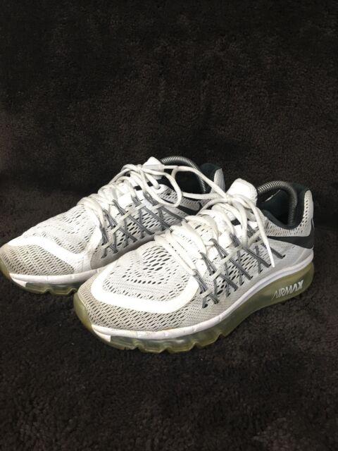 10b94f9077c9 Buy Nike Air Max 2015 Running Shoes White Black 698902 101 online