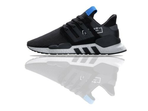 Size 9 D97061Blue Adidas Originals EQT Support 91//18 Men/'s Boost Running Shoe