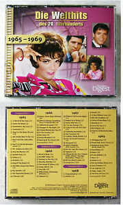 74 WELTHITS 1965-1969 Seekers, Animals, Hollies, Cliff,... Readers 3-CD-Box TOP