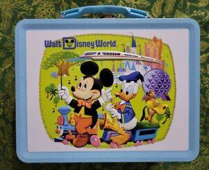 NIP D23 Gold Member Walt Disney World Tin Lunch Box Mickey Mouse 2021