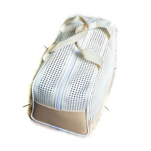 067141fa1 Details about New Air mesh Patent Leather Beach Bag Training Shower Bag  Swimming Bag