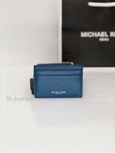 2c4a2984b399f9 NWT NIB Michael Kors Men's Warren Card Case Money Clip Wallet ...