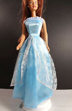 Curvy orange shimering dress For Your Curvy Barbie Doll Au Made