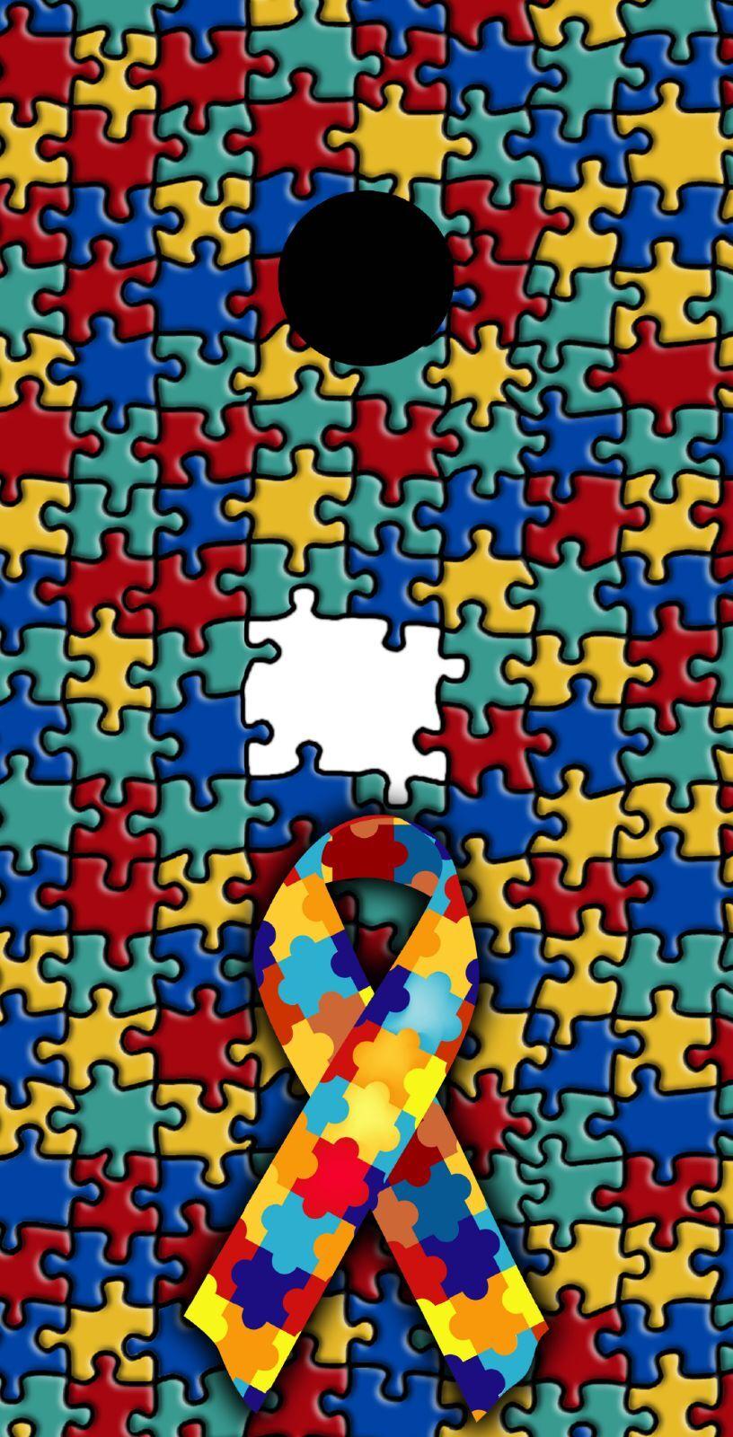 Autism Awareness Themed Cornhole Board Prints   Wraps