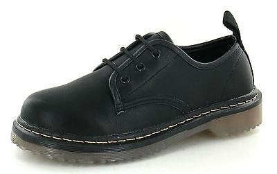 Para Niños Unisex Negro Con Encaje Zapatos x3013