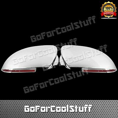 FOR 04-08 NISSAN MAXIMA MIRROR CHROME ABS COVERS