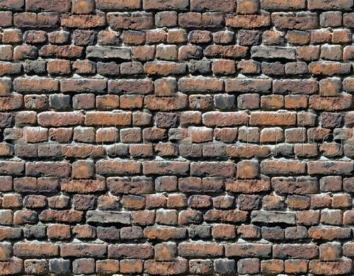 &  9 SHEETS EMBOSSED BUMPY BRICK stone wall 21x29cm G SCALE 1/24 CODE 4010K7