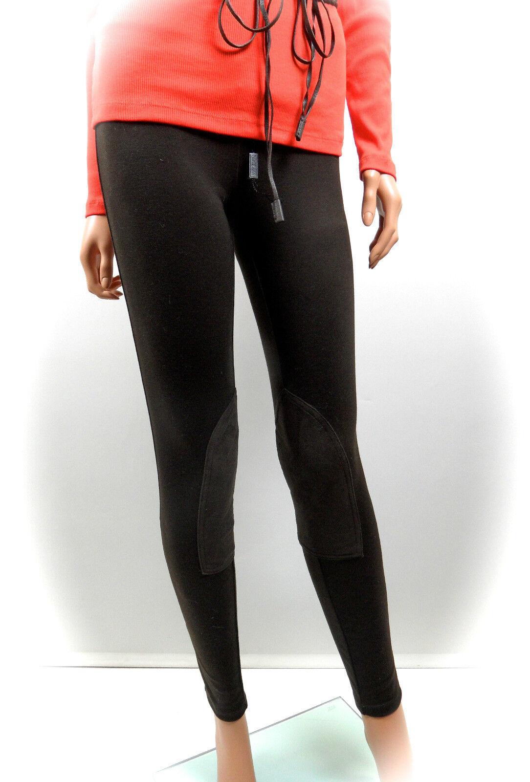 Ralph Lauren Lauren Lauren combinata parte legging pantaloni XL Marronee Scuro Nuovo 251d52