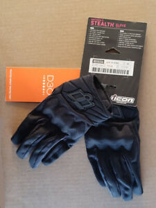 Stealth ICON ANTHEM 2 Mesh//Leather Touchscreen Motorcycle Gloves Choose Size