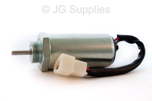 Fuel Shutoff Solenoid Replaces  8973295680 for Isuzu 3LD1 3LD2 4LE1 3LB1 4LB1