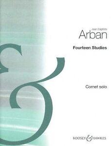 Arban Studies 14 Trompette-afficher Le Titre D'origine RafraîChissant Et Enrichissant La Salive
