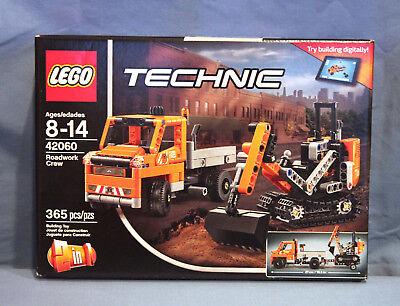Lego Technic Roadwork Crew 2-in-1 model Mini Gritter 42060 New Factory  Sealed 673419267458 | eBay