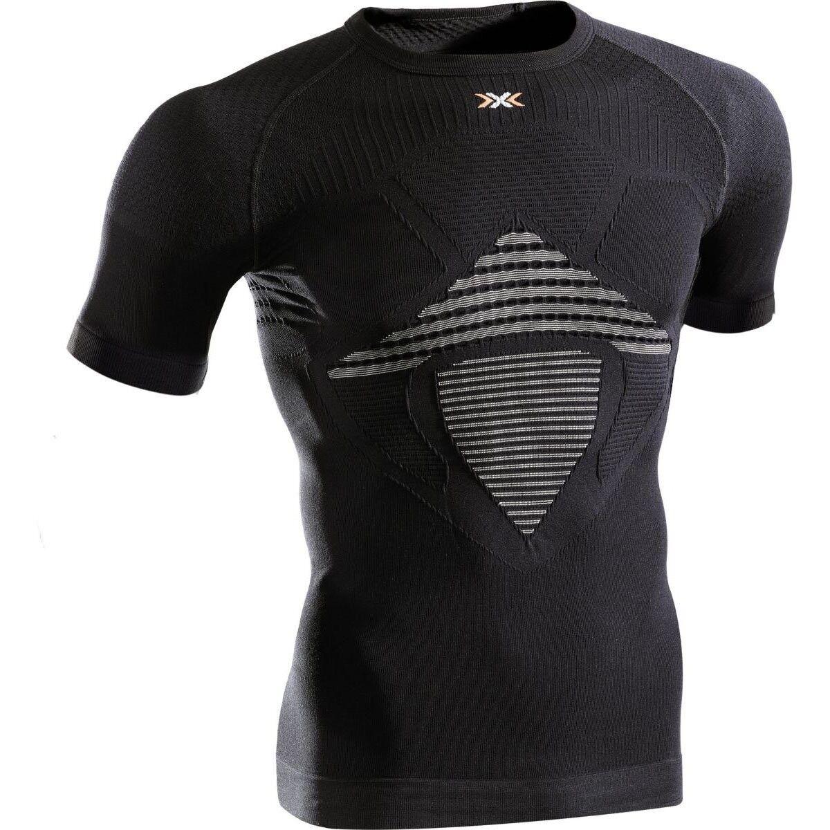 X-bionic Man Energizer mk2 ropa interior función camiseta negro