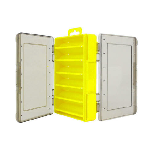 Outdoor Fishing Tackle Box Waterproof Double-Sided Bait Lure Hooks Storage Case