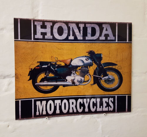 2 Sizes Available ideal for pub HONDA Motorcycles METAL SIGN Man Cave bar