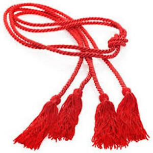 High-Quality-DOUBLE-60-034-Red-Honor-Cord-Graduation-Academic-Apparel-Tassels