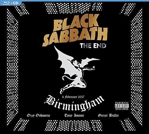 Black Sabbath - The End [New CD] Explicit, With Blu-Ray, Digipack Packaging