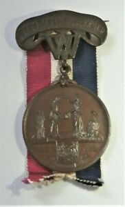 Civil War West Virginia Honorable Discharge medal - named