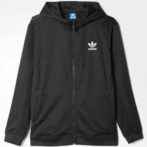size 40 57183 c817c Details about ADIDAS FULL ZIP HOODY NMD BLACK OUT PACK trefoil logo new