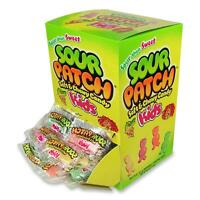 Cadbury Schweppes Plc Sour Patch Kid Chewy Candy Individually Wrapped 240/bx on sale