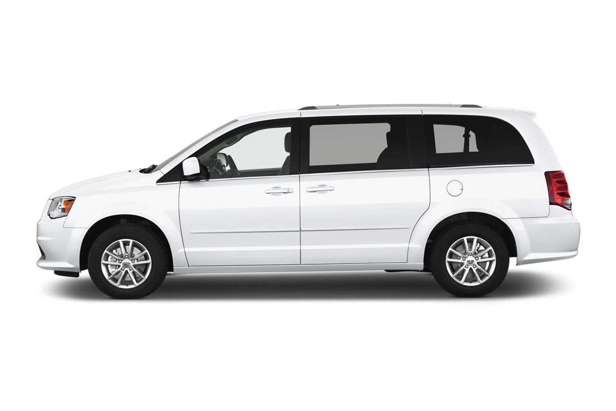 Dodge Grand Caravan side view