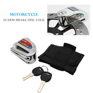 Alarm-Disc-Security-Lock-Motorcycle-Dirt-Road-Bike-Brake-Rotor-Aluminium-alloy