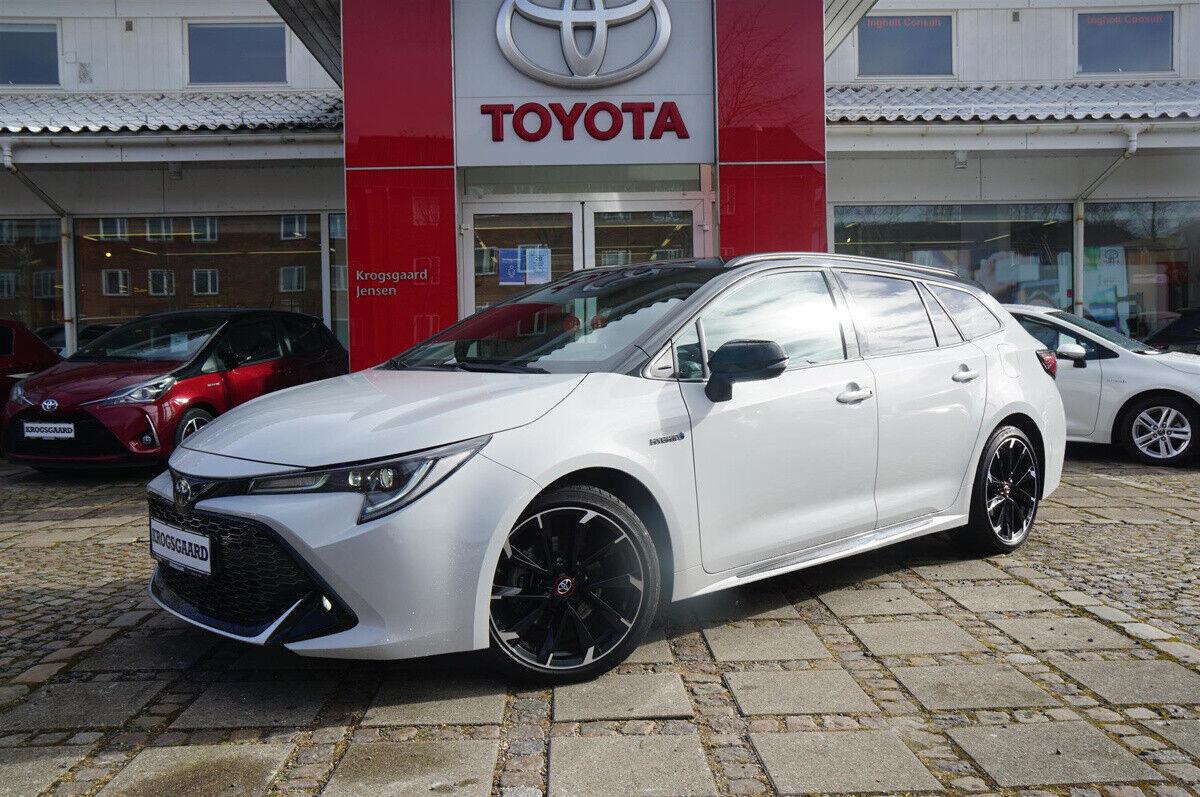 Toyota Corolla 2,0 Hybrid GR Sport Touring Sports MDS 5d - 334.900 kr.