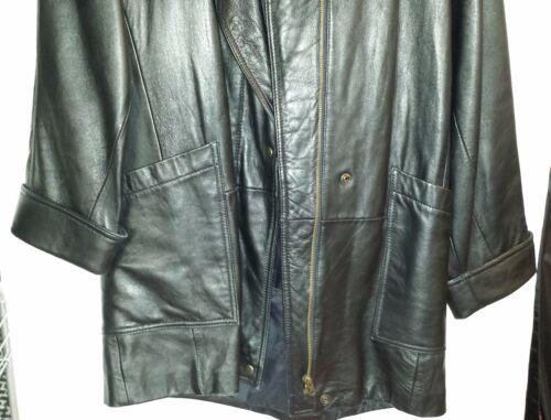 Veste à Petit amovible noir W Tannery avec West cuir en glissière doublure gxHwq1SrgW