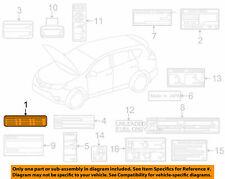 Toyota Oem 2017 Rav4 Emission Label 112980v391 New In Package