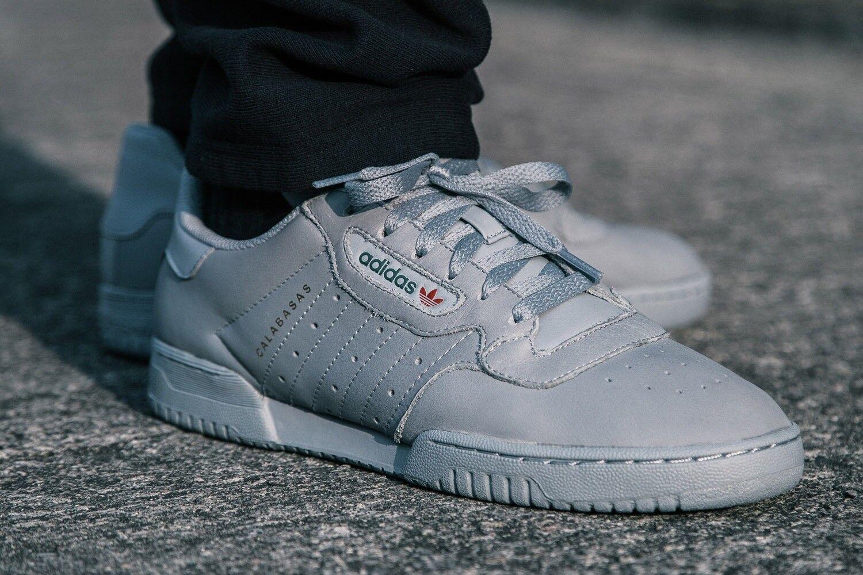 Adidas Yeezy Powerphase Calabasas Grey Cool Sneakers