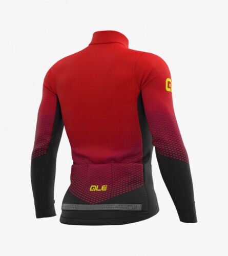Ale Cycling Winter Jersey Delta Micro PR-S Black//Red ΑUTHENTIC-BRAND NEW