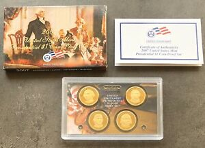 USA-2007-Presidential-Dollar-Proof-Set-S-San-Francisco-PP-polierte-Platte-1