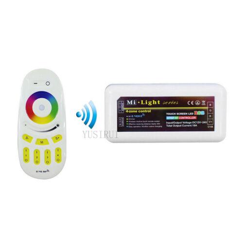 MiLight 8-Zonen RGB+CCT RGBW Wandschalter LED Touch Fernbedienung iBOX 1//2 WiFi