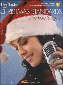 Charmant Noël Des Normes Pour Les Chanteuses Vocal Sheet Music Book/audio Voix De Noel-afficher Le Titre D'origine