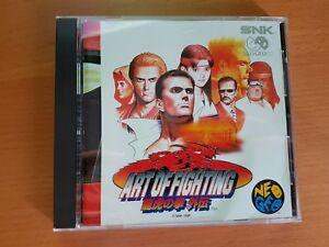 Art Of Fighting 3 Snk Neogeo Cd Neo Geo Ebay