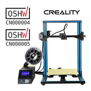 Creality-3D-Printer-CR-10-300X300X400mm-Aluminum-Frame-1-75mm-PLA-Pre-installed
