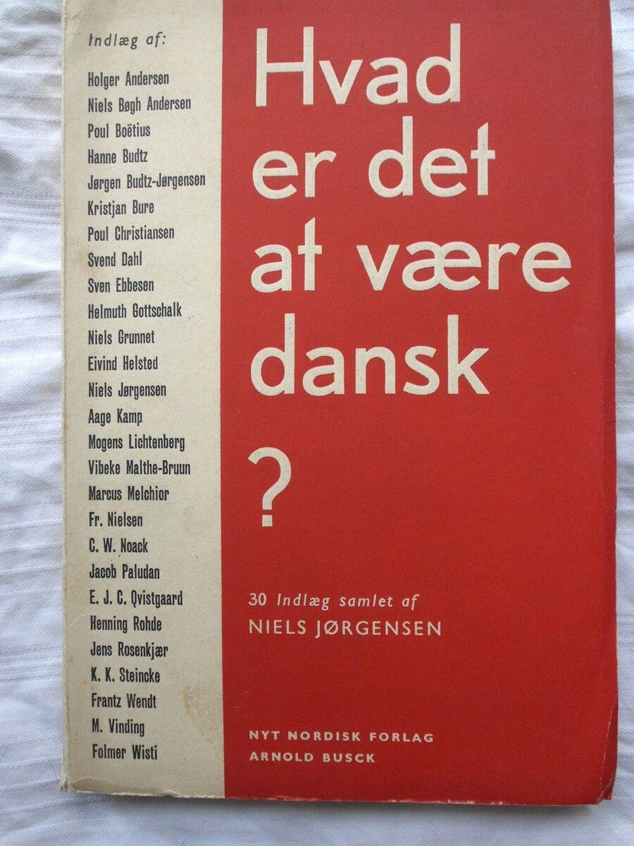 hvad betyder det at være dansk