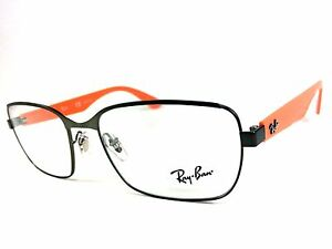 e8fbc17b50 SALE! Ray-Ban Eyeglasses Frame RB 6308 2817Gray Orange 53 17 140 ...