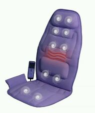 Comfort Products 10-Motor Massage Cushion Heat CAR Boat TRUCK couch RV LAVENDER