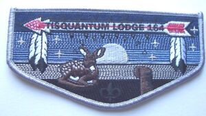 Tisquantum Lodge #164 .. 75th Anniversary flap