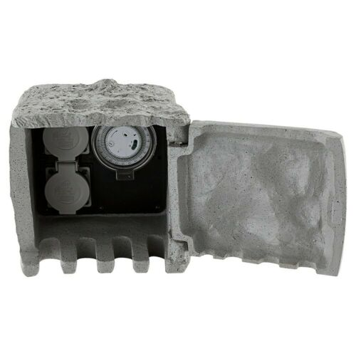 Globo 37001-2z Distributeur Prise de courant gris Pierre Optique