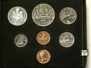 1979-ROYAL-CANADIAN-MINT-DOUBLE-PENNY-UNCIRCULATED-COINS-SET-OOAK