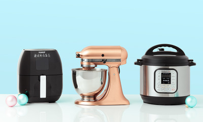 Up to 40% off countertop appliances.